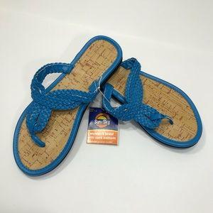 ddc2e422c900 Shoes - ⬇ SALE 3  15 ⬇ Turquoise Flip Flops NWT